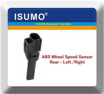 1 Kit Abs Wheel Speed Sensor Rear Left or Right Fits: Durango Ram 1500 Ram 2500