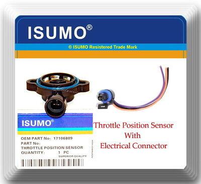 Throttle Position Sensor W/ Electrical Connector Fits: GM Isuzu & Saturn