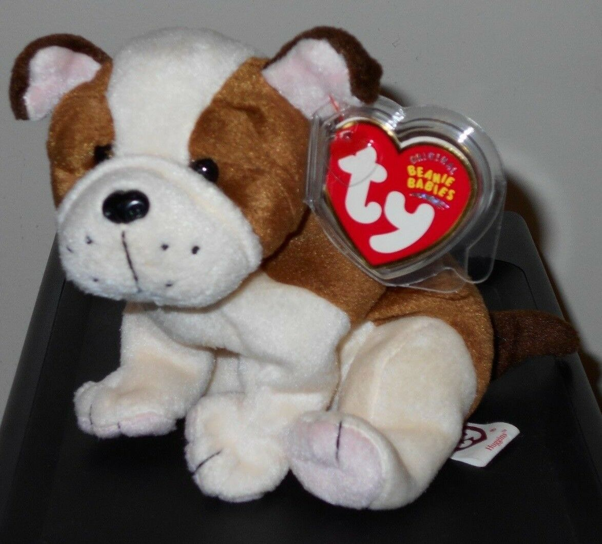 17c88663a30 Ty Beanie Baby ~ HUGGINS the Dog (6.5 Inch) MWMT