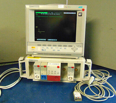 Agilent Neonatal V 26 C Patient Monitor With Leads - Powers On - S513x
