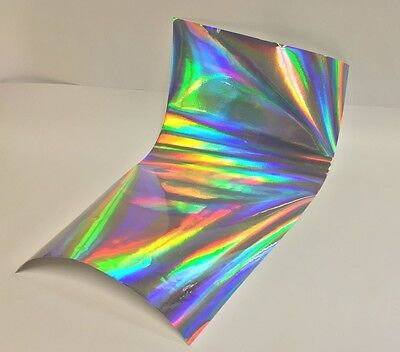 Longlife Overall Oil Slick Rainbow Holographic Sign Vinyl 24 Inch X 10 Feet