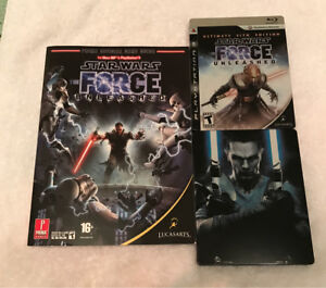 Force unleashed 1 & 2 steel case editions