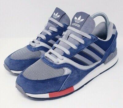 Adidas Quesence Dark Blue Silver Grey Runner UK10