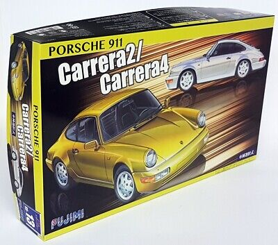 Fujimi 1/24 Scale Porsche 911 964 Carrera 2 / 4 Build Yourself Plastic Model Kit