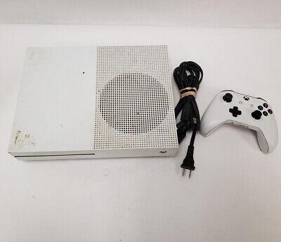 Microsoft XBOX ONE S White 1681 500GB Console 13/L51844A