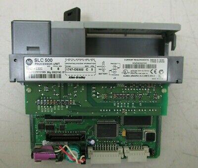 Allen Bradley 1747-l532 Series E  Slc 500 Processor Unit
