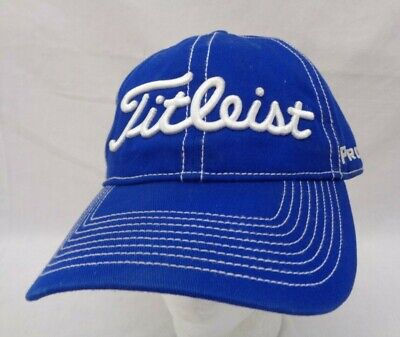 cheap for discount f0274 d75c2 Titleist FJ Pro V1 Golf Hat Blue - Strapback - Used