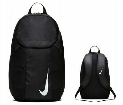 Nike Academy Team Club BLACK 30L Unisex  Backpack Rucksack School Gym Sports