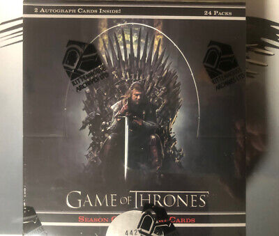 Game Of Thrones Season One Trading Card Box