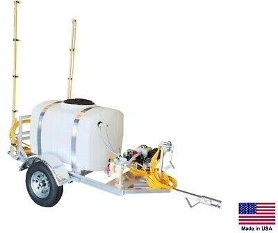 Sprayer Commercial - Trailer Mounted - 9.5 Gpm - 18 Ft Boom - 200 Gallon Tank