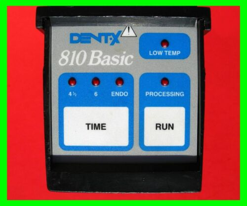 "Dent-X 810 X-Ray Black Control Box w/ Blue Membrane ""Run Switch"" USA Retail-Mint"