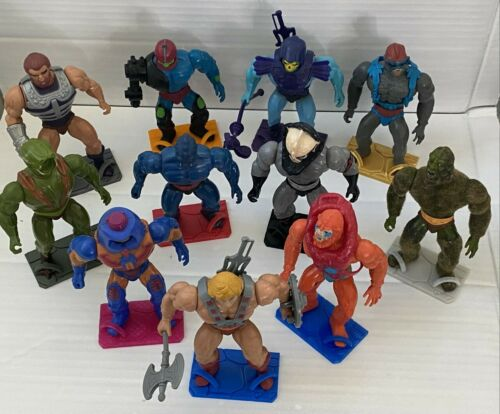 Masters of The Universe MOTU Figure Stands Vintage Origins New Additions!! READ!