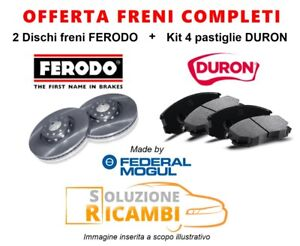 KIT-DISCHI-PASTIGLIE-FRENI-ANTERIORI-FORD-S-MAX-039-06-gt-2-0-TDCi-120-KW-163-CV