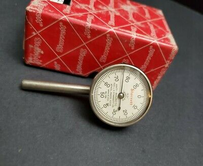 Starrett No. 196 Anti-magnetic Back Plunger Dial Indicator Machinist Metrology