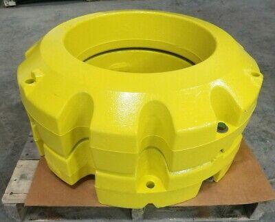 2 - John Deere Oem Part R207782 Wheel Weights Tractor Pair 205 Kg 452 8r 9r