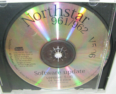 Northstar Marine Gps 961   962 Version 5 06 Software Update Cd Rom 04 April 2008