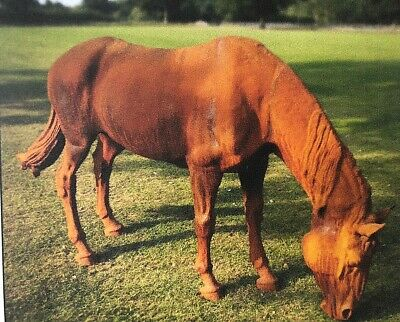 Life size Cast iron Horse Large Horse Statue Sculpture