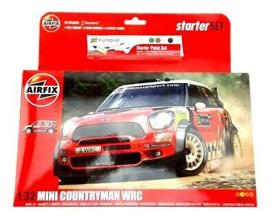 Airfix Airf03414 Mini Countryman Wrc Rally Car 1/32 Scale - New