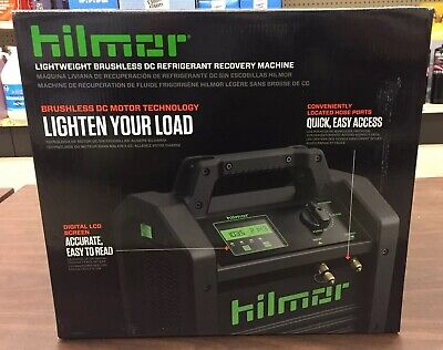 Hilmor Lightweight Brushless Dc Refrigerant Recovery Machine 1950536