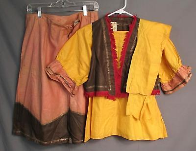 1920s Womens Outfits (Vintage 1920s Antique Womens Pioneer Western Costume Outfit M Theater)
