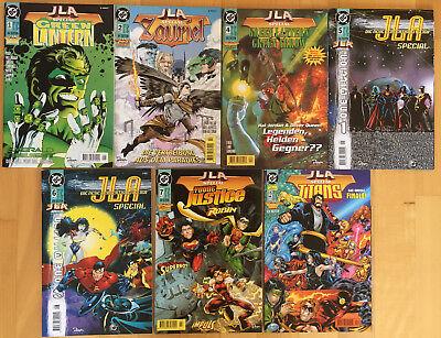 JLA SPECIAL 7 Hefte / Dino Verlag / Guter Zustand / Versandkostenfrei (Wonder Woman Kosten)