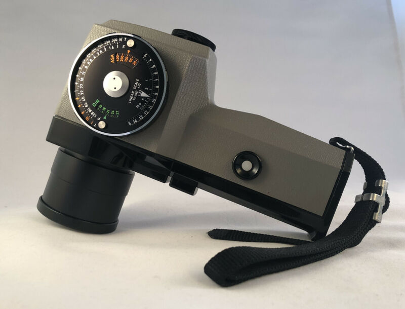 【Near MINT in Case】PENTAX Spotmeter V Exposure Meter With Manual From Japan.
