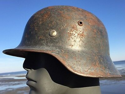 Rare WW2 M-35 / 40 German LUFTWAFFE Helmet 1938 LINER ET64 Part Chinstrap WWII