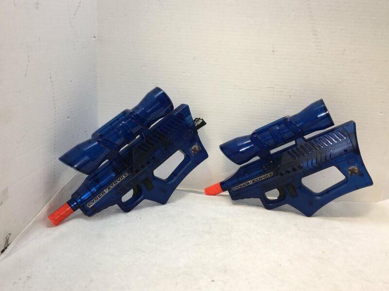 Cyder & Stryke Blue Airsoft Guns