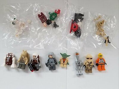 #1 Lego Star Wars Minifigures Lot w/ Astromech Yoda Christmas Vader +++