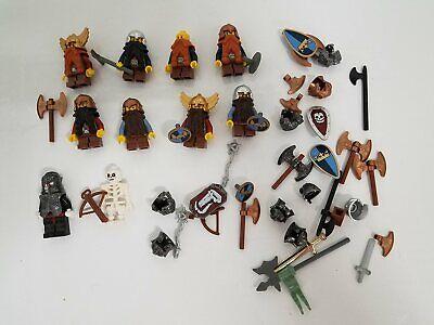 #5 Lego Vintage Castle Fantasy Era Dwarves Dwarf Minifigures Lot