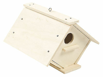 Wood Birdhouse Craft Kit - Project Unfinished Wooden Decorative Bird House - DIY