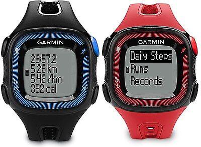 Garmin Forerunner 15 Gps Fitness Running Sport Watch   Large   010 01241 00