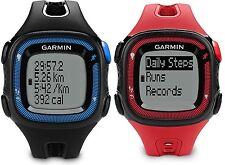 Garmin Forerunner 15 GPS Fitness Running Sport Watch - Large - 010-01241-00