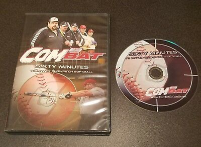 Combat: Sixty Minutes to Better Slowpitch Softball (DVD) sports coaching