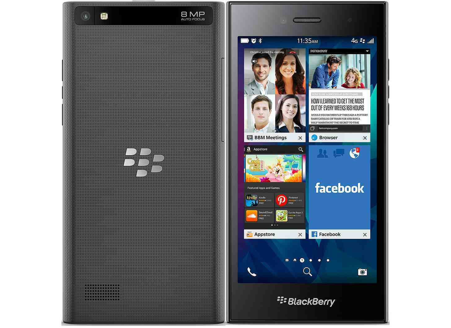 Blackberry Leap 16GB smartphone touch screen