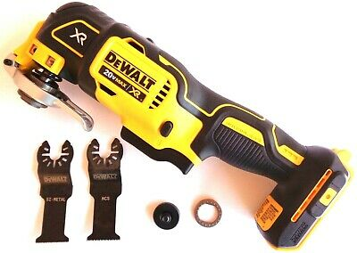 New Dewalt DCS355 20V Cordless Brushless Oscillating MultiTool 20 volt, 2 Blades