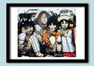 THE-BEATLES-WHITE-ALBUM-A-DOLLS-HOUSE-1968-LARGE-60-X-40-CMS-A2-POSTER