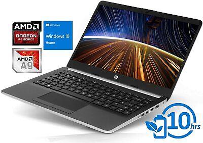"HP 14-DK0002DX 14"" AMD A9-9425 3.1GHZ 4GB RAM 128GB SSD LAPTOP"