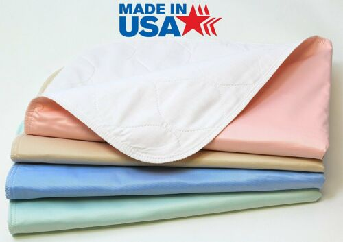 Pack of 4 - Reusable / Washable Large Dog /Puppy Training Travel Pee Pads -24x36