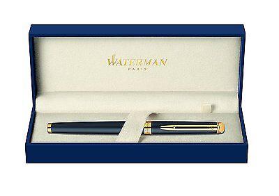 Waterman Hemisphere Matte Black   Gold Fountain Pen X Fine Pt New In Bx Wide