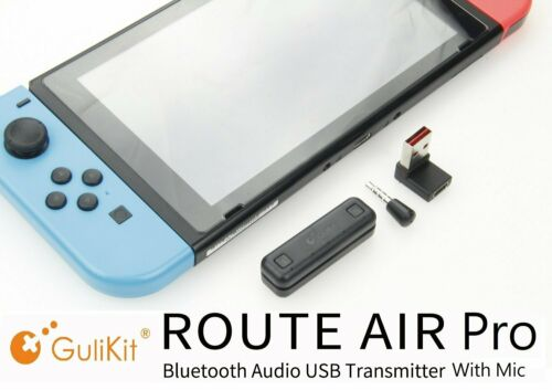 Gulikit Route Air Pro Switch Bluetooth Adapter with Mic For