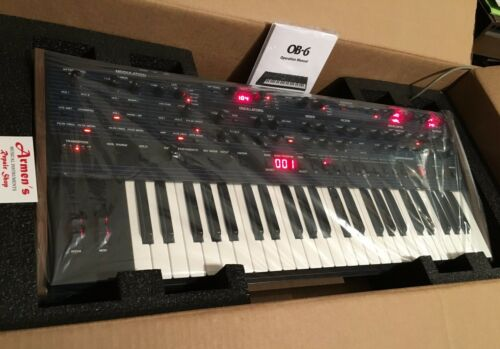 Dave Smith Instruments &Tom Oberheim OB-6 6 Voice Analog Synth in box //ARMENS//