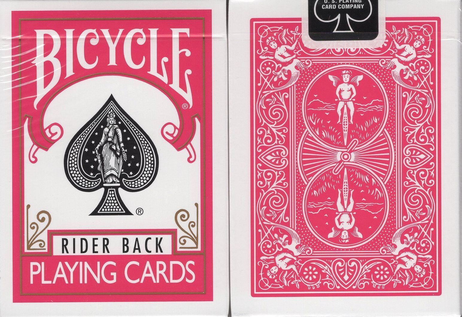 BICYCLE GREEN BACK DECK PLAYING CARDS STANDARD SIZE /& FACE USPCC