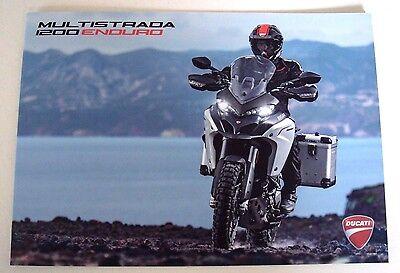 Ducati . Multistrada 1200 Enduro . November 2015 Sales Leaflet