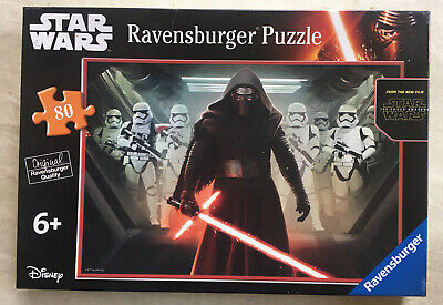 STAR WARS THE FORCE AWAKENS 80 Jigsaw Puzzle Kylo Ren/Stormtroopers Ravensburger