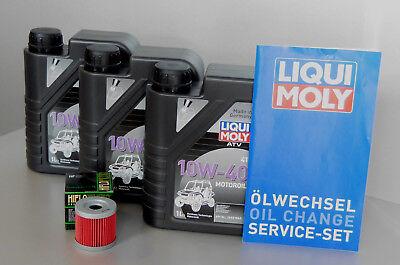 Ölwechselset für Quad Suzuki LTZ 400 Ölfilter + Öl + Serviceset (Suzuki Quad öl)