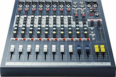 Soundcraft EPM8 10-channel Mixer Best Deal on eBay Authorized Dealer! Free