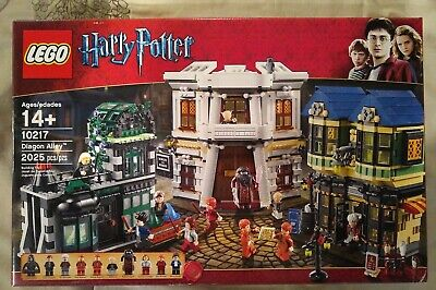 LEGO 10217, Diagon Alley, Brand New, Hard to find, Sealed, Fast Shipping!