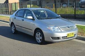 2006 Toyota Corolla 11 MONTHS REGO,AUTO,AIR,STEER,LOW KM CHEAP Pendle Hill Parramatta Area Preview