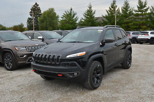2017 Jeep Cherokee Trailhawk Leather Plus